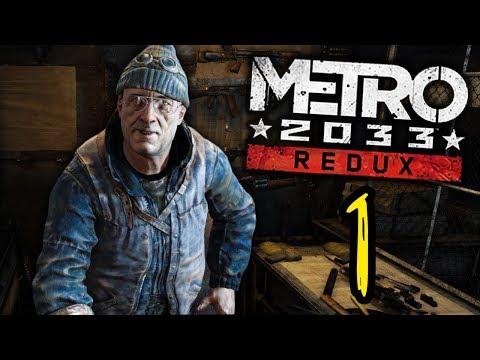 TRAPPED IN THE SUBWAY!   Metro 2033 Redux - Episode 1 (Gameplay Walkthrough)