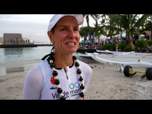 Charlene Ottevaere in Ironman Hawaii: