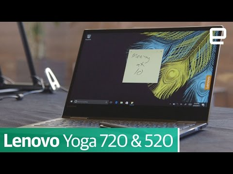 Lenovo Yoga 720 & 520 | First Look | MWC 2017