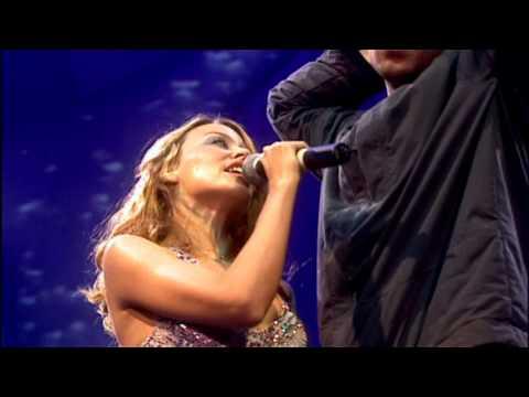 Kylie Minogue & Robbie Williams - Kids (Live Manchester 2000) HD