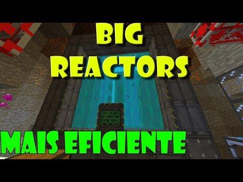 Tutorial Big Reactors - O Reator Mais EFICIENTE(pt-br)