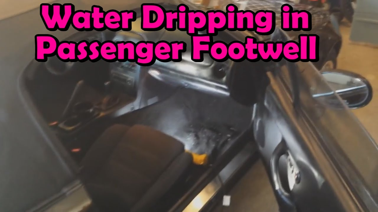 Miata How To Fix Water Dripping In Passenger Footwell Youtube 2003 Mazda Tribute Coolant Leak