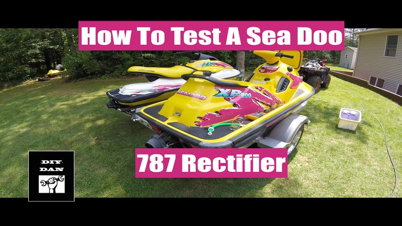 How To Test A Rectifier In Your Sea Doo XP GSX GTX SPX