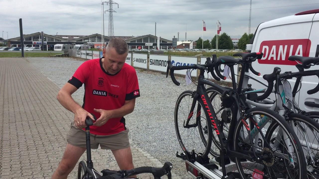 Top Den bedste cykelholder til 4 cykler - YouTube CR73