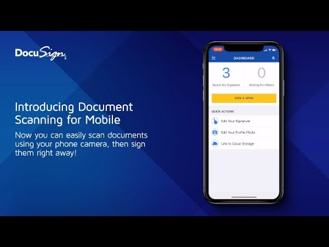 Introducing Document Scanning for DocuSign Mobile | DocuSign