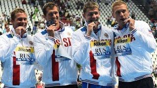 Дневники Чемпионата Мира 2015. Первые чемпионы по плаванию!