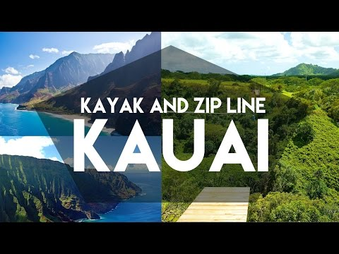 JUNGLE KAYAK & ZIPLINE // KAUAI, HAWAII // MY TRAVEL TOUR GU