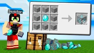 ¿Cómo conseguir DIAMANTES INFINITOS en Minecraft? 💎😂 CRAFTEOS 100% IMPOSIBLES - INVICTOR