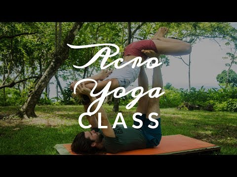 Learn to Fly with Your Partner | Free AcroYoga with YogaToday