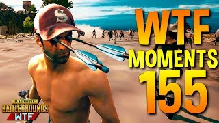 PUBG WTF Funny Moments Highlights Ep 155 (playerunknown's battlegrounds Plays) thumbnail