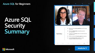 Azure SQL Security – Summary | Azure SQL for beginners (Ep. 33)