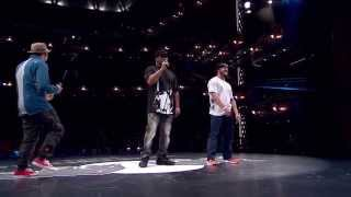Napalm VS Kid Kruz - Red Bull BC One North American Final 2015