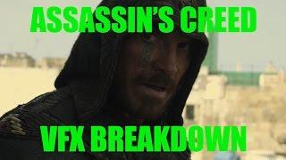 Assassins Creed VFX Breakdown Визуальные эффекты в фильме Кредо Убийцы 2017