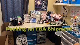 Packaging up an Amazon FBA Shipment from Retail Arbitrage