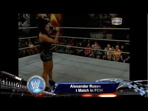 Alexander Rusev First Match In FCW