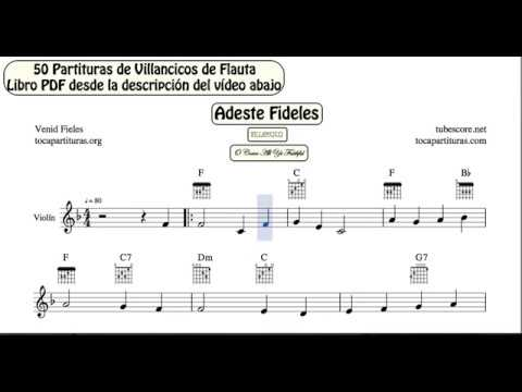 50 Christmas Carol Video Sheet Music For Violin Pdf Book With Piano
