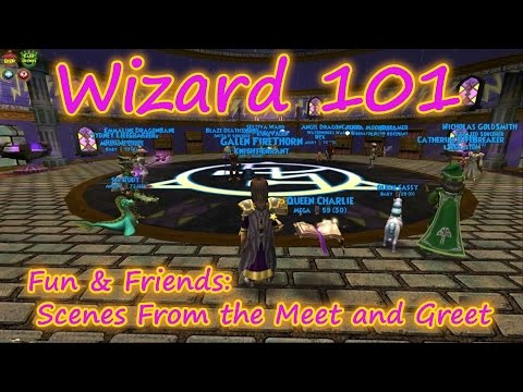 Wizard101: Epic Fun and Friends - Scenes from the Meet and Greet