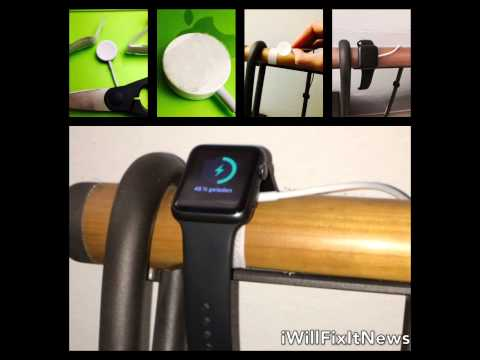 DIY Apple Watch Stand