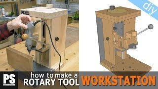 Drill Press, Lathe and Router Table in one Tool / Part 1