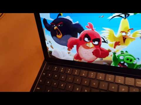 Android PC using Google Pixel C.