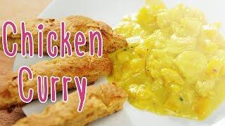 Würziges Chickencurry | Besser als beim Inder um die Ecke!