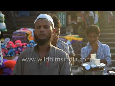 Street vendor selling fresh lemon juice  Delhi
