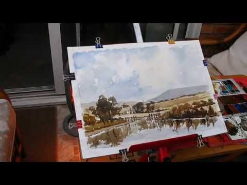 Watercolour canal walks with Alan Owen