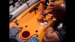 comment réparer kayak plastique