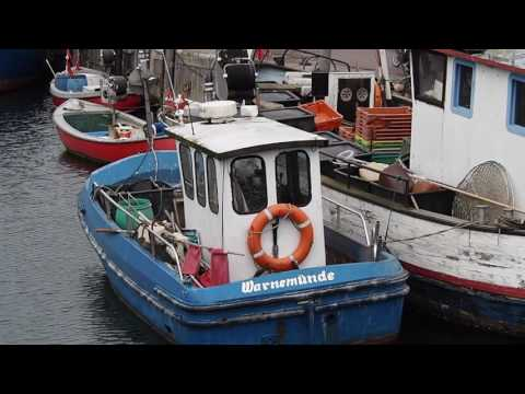 Travel video diary of Warnemunde and Rostock In Germany, short video