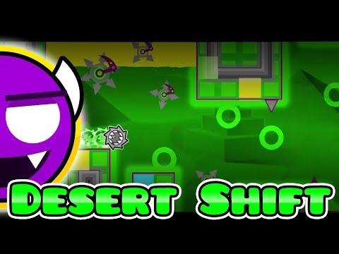 Desert Shift (Demon) – By CreatorDiana — Geometry Dash