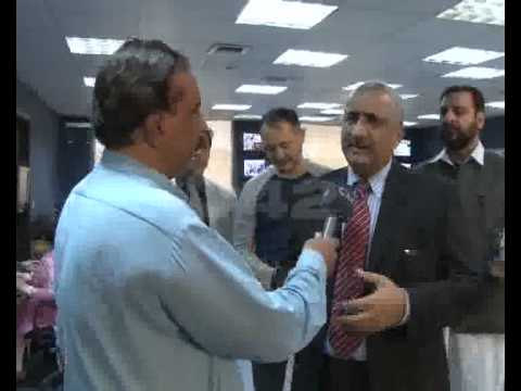 IG Motorway Police Zafar Abbas Lak Visit City42 Office Pkg By Asad Sahi City42