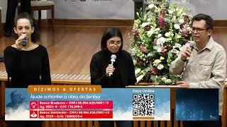 CULTO MATUTINO 11:00 H | Igreja Presbiteriana de Pinheiros | 10-05-2020