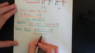 Finite Dimensional Vector Spaces Part 1