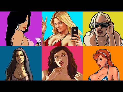 FEMALE PROTAGONISTS IN THE GRAND THEFT AUTO SERIES!