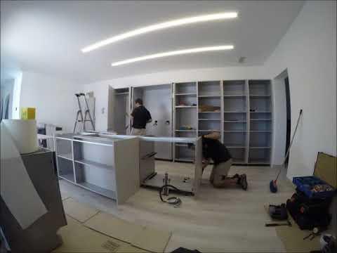 Montaggio Cucina One 80 di Ernestomeda - YouTube