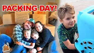 Packing the Entire House in 3 Days! 📦 (Daily Bumps Moves)