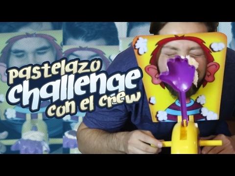 Pastelazo Challenge con el Crew