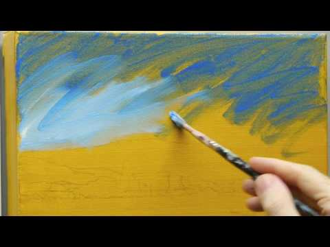 Lessons on Impressionist landscape painting techniques
