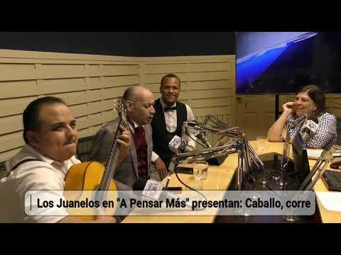 """Los Juanelos en """"A Pensar Más"""" presentan Caballo, corre"""