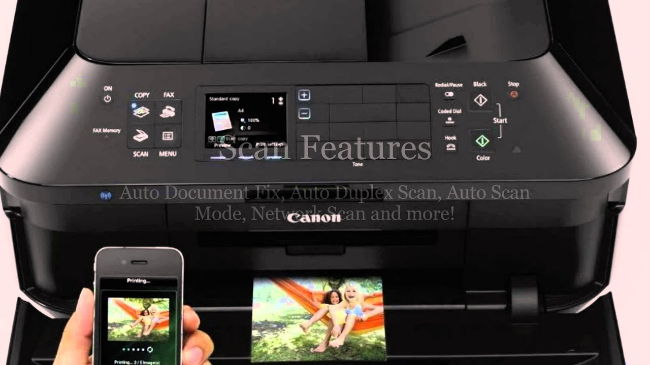 Canon PIXMA MX922 Review - Discounted - YouTube