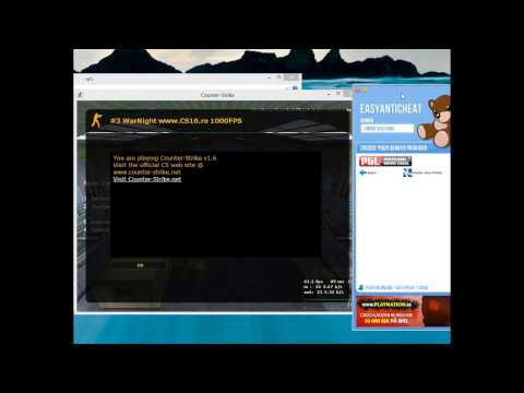CS1.6 Wallhack for EasyAntiCheat with Clean Screenshots  (2014)