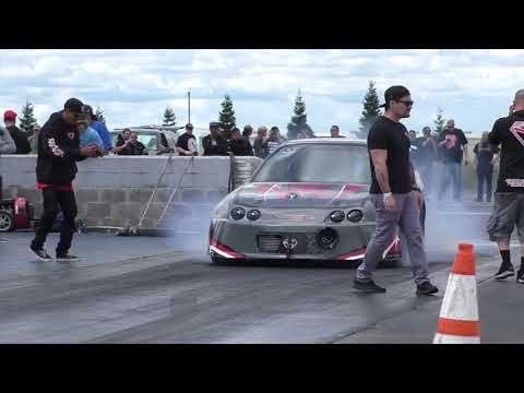 All Honda drag racing action Spring Jam Sacramento Raceway 2018