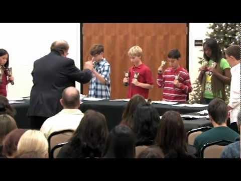 Red Hill Lutheran School Hand Bells - Good Christian Friends Rejoice.mpg
