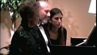 Judith Burganger & Leonid Treer Play Mozart Sonata in D Major K 381 on Harpsichord - Part II