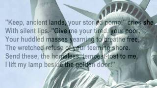 """The New Colossus"" by Emma Lazarus (read by Tom O"