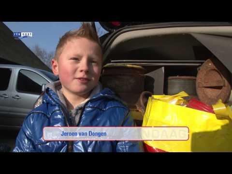 Melkbustrommelaars Staphorst en Rouveen vertrekken naar Rotterdam