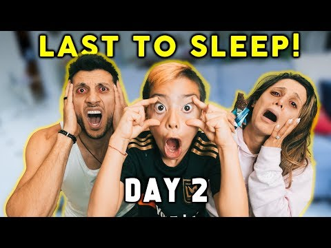 Last To SLEEP Wins $10,000 CHALLENGE!   The Royalty Family