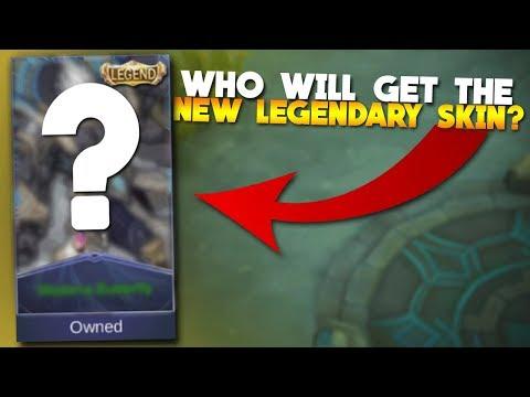 The NEW Legendary Skin in Mobile Legends!