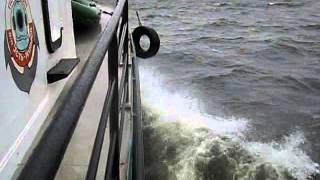 шторм с палубы на Усть-Илимском водохранилище.(, 2015-09-06T15:43:03.000Z)