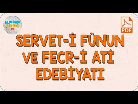 Servet-i Fünun ve Fecr-i Ati Edebiyatı   AYT Edebiyat 2020